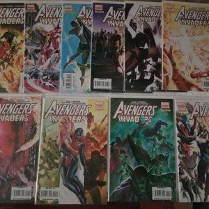 Marvel Avengers Invaders 10 lot